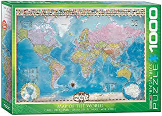 Eurographics 1000pcs - Map of the World