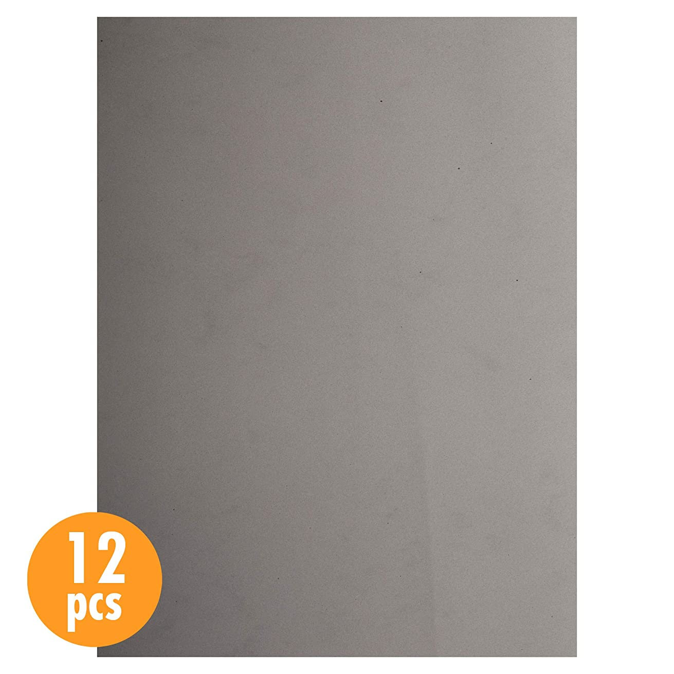 CTG, EVA sheet, 9 x 12 inches, Grey, 12 Pieces