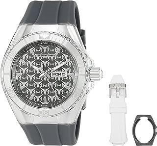 [テクノマリーン] TechnoMarine 腕時計 Technomarine Men's Cruise Monogram Analog Display Quartz Grey Watch クォーツ TM-115062 メンズ 【並行輸入品】