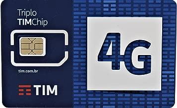 Brazil Prepaid SIM card by TIM
