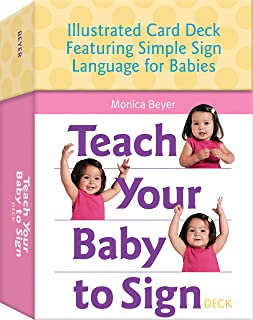 Teach Your Baby to Sign Deck: Illustrated Card Deck Featuring Simple Sign Language for Babies