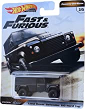 Hot Wheels Furious Off Road Land Rover Defender 110 Hard Top 3/5, Black