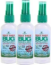 GREENERWAYS ORGANIC Insect Repellent Travel Size, Premium, USDA Organic, DEET-Free, Natural, Mini Repellent Spray, Travel ...