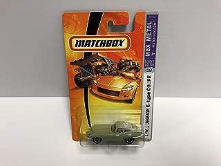 1961 Jaguar E-type Coupe Matchbox 2007 MBX METAL diecast 1/64 scale #28