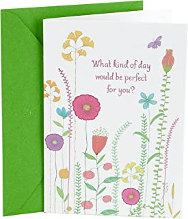 Hallmark Birthday Card (Perfect Day for You)