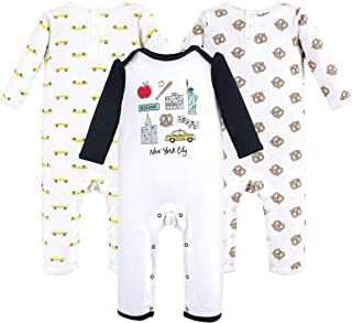 Hudson Baby Unisex Baby Cotton Coveralls and Union Suits