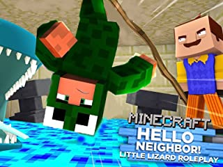 Clip: Little Lizard Roleplay - Minecraft Hello Neighbor
