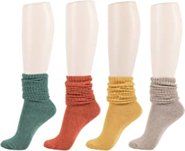 Women's Slouch Knit Socks Soft Stylish Casual Fall Winter Knee Sock
