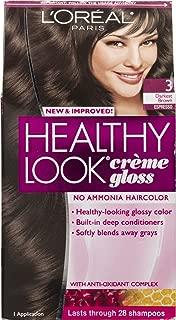 L'Oreal Paris Healthy Look Creme Gloss 3 Darkest Brown Espresso
