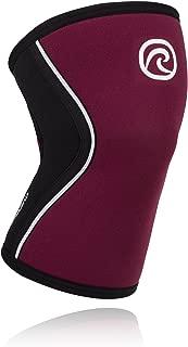 Rehband Rx Knee Sleeve 5mm - Burgundy - XSmall - 1 Sleeve
