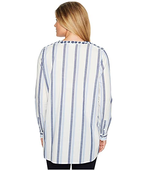 Embroidered Camuto Vince Sophomore Tunic by TWO Stripe Henley XfUwWTxnaq