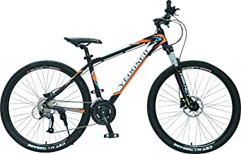 YEOGNED 27.5 Variable Speed Aluminum Suspension Mountain Bike Outdoor Sports Cycling Bicycle