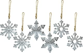 Best galvanized snowflake ornament Reviews