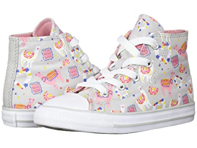 Converse Kids Chuck Taylor(r) All Star(r) Hi (Infant/Toddler) (Mouse/Multi/White) Girl