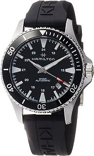 Hamilton - Reloj de Hombre automático 40mm Correa de Goma Color Negro H82335331
