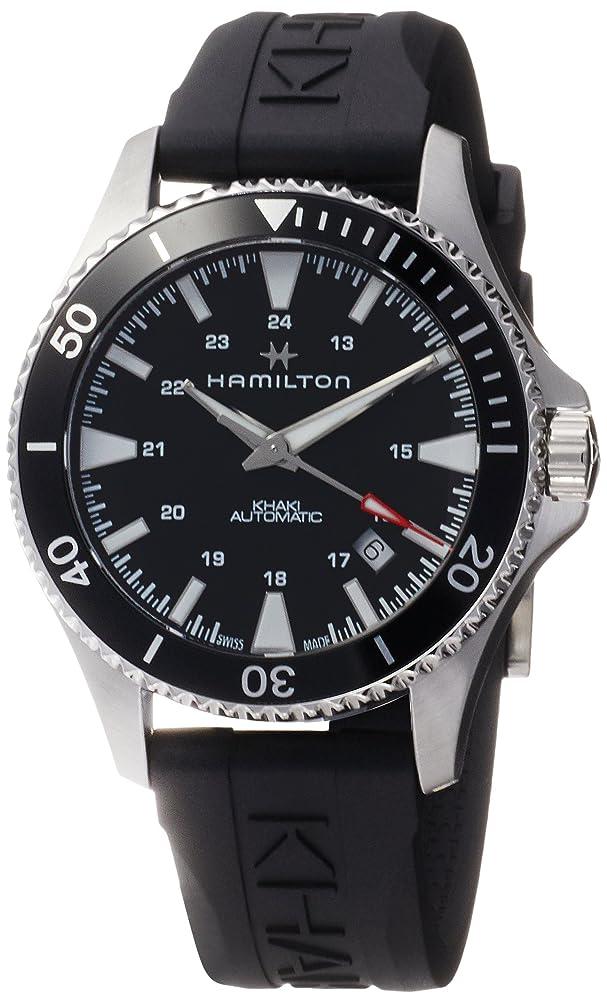 同様のシンプルさ土砂降り[ハミルトン] 腕時計 カーキネイビー 機械式自動巻 H82335331 メンズ 正規輸入品