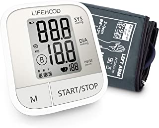 Blood Pressure Monitor – Clinically Accurate & Fast Reading, 60 Reading Memory Automatic Upper Arm