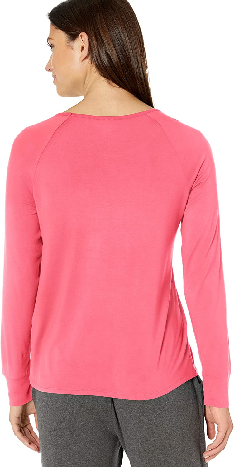 Essentials Relaxed Long-Sleeve Sleep T-Shirt Mujer