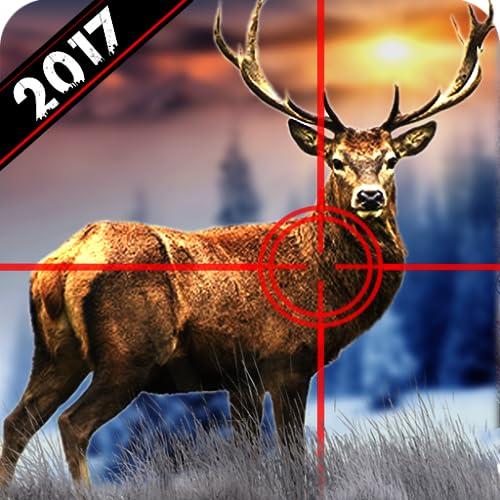 Wild Hirsch Jagd 2017: Schnee Sniper Schießen 3D