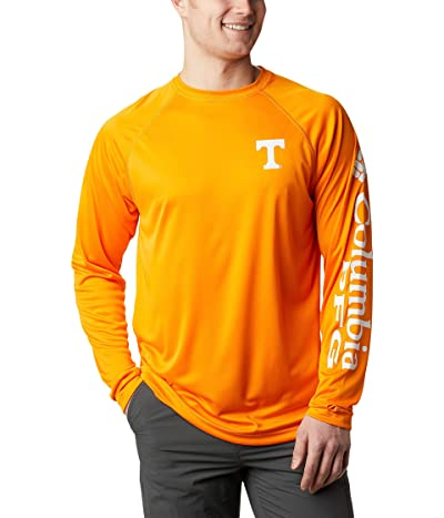 Columbia College Tennessee Volunteers Terminal Tackletm Long Sleeve Shirt (Solarize/White) Men