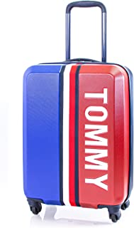 Tommy Hilfiger Pep Rally Hardside Spinner Luggage with TSA Lock, Royal Blue, 20 Inch