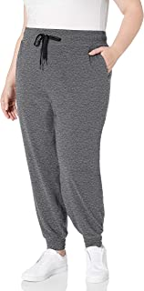 Amazon Essentials Women's Plus Size Brushed Tech Stretch Jogger Pant