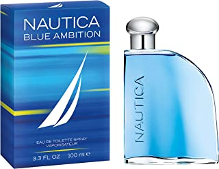 Nautica Blue Ambition Men's Cologne/Eau de Toilette, 3.3 Fluid Ounce