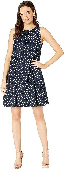 Spring Dot Print Dress