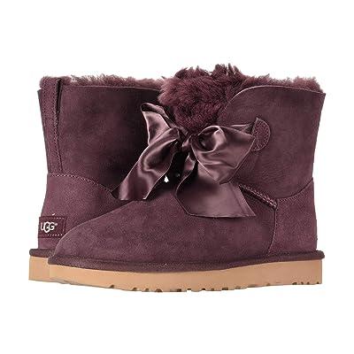 UGG Gita Bow Mini Boot (Port) Women