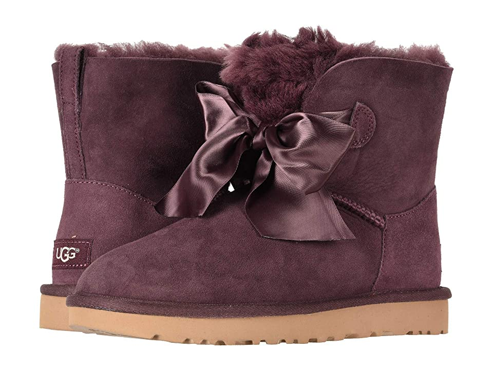 UGG Gita Bow Mini Boot (Port) Women
