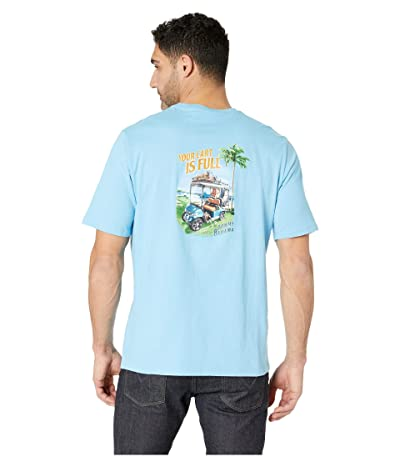 Tommy Bahama Your Cart Is Full Tee (Scandia Blue) Men