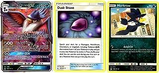 Evolution Card Set - Honchkrow GX 109/214 - Sun Moon Unbroken Bonds - Ultra Rare Card Lot w/Dusk Stone