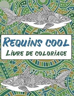 Requins cool – Livre de coloriage 🦈