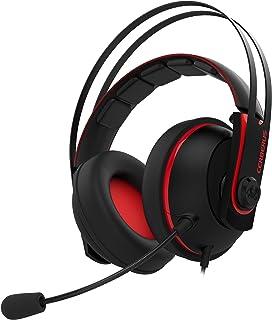 ASUS ゲーミングヘッドセット デュアルマイク 3.5mmジャック ステンレススチール製 53mm ASUS エッセンスドライバー Cerberus ( ケルベロス ) V2 RED PS4 対応