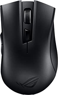 Asus ROG Gladius II Core Wired USB Optical Ergonomic FPS Gaming Mouse Featuring ROG Strix Carry