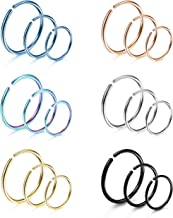 Best 0.8mm nose ring Reviews