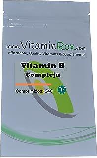 Vitamina B Compleja - 240 Comprimidos [Vitamin B Complex]