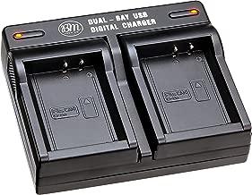 BM Premium LP-E10, LPE10 USB Dual Rapid Battery Charger for Canon EOS Rebel T3, T5, T6, T7, Kiss X50, Kiss X70, EOS 1100D, EOS 1200D, EOS 1300D, EOS 2000D Digital Cameras
