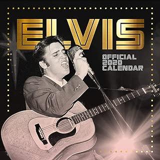 Elvis Square 2020 Calendar - Official Square Wall Format Calendar
