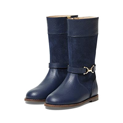 Janie and Jack Riding Boots (Toddler/Little Kid/Big Kid) (Navy) Girl