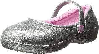 Crocs Karin Sparkle Lined Clog Mary Jane (Toddler/Little Kid)