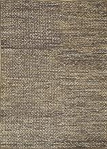 Jaipur Rugs Naturals Blue 6'2X9'2 Feet Jute Geometric Rug and Carpet