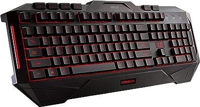 ASUS Cerberus Dual LED Color Backlit Gaming Keyboard (Cerberus Keyboard) (Certified Refurbished)