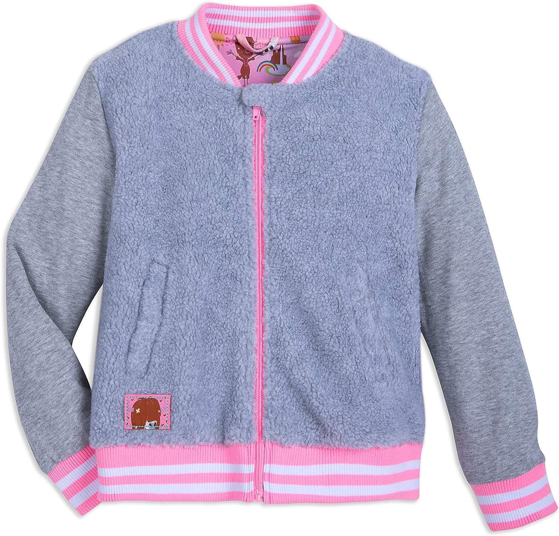 Disney Zootopia San Jose Mall Bomber Jacket for Girls supreme Gray