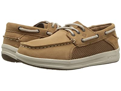 Sperry Kids Gamefish (Little Kid/Big Kid) (Dark Tan) Boys Shoes