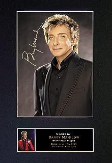 barry manilow autograph