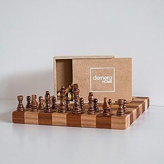 Scacchiera in legno - gioco degli scacchi