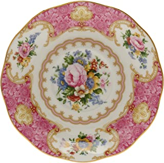 Royal Albert Lady Carlyle Bread & Butter Plate, 6 inch, Floral Multicolor Print