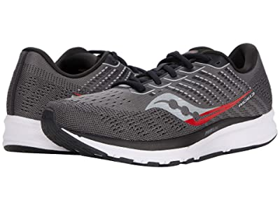 Saucony Ride 13 (Charcoal/Black) Men