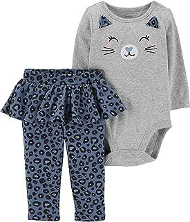 Carter's Baby Girls' Bodysuit Pant Sets